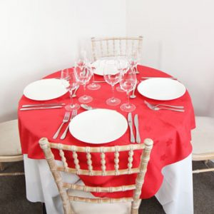 Linen - Red