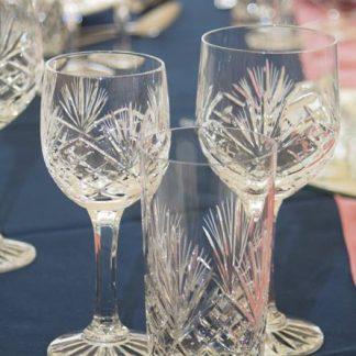 Glasses - Cut Crystal